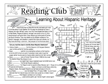 Hispanic Heritage Puzzle Set