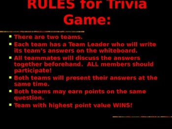 hispanic heritage trivia game ppt