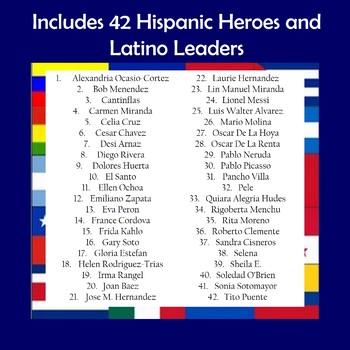 Hispanic Heritage and Latino Leaders Interactive Fan