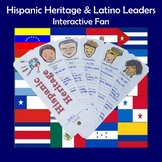 Hispanic Heritage and Latino Leaders Interactive Fan Sample