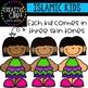 Hispanic Kids {Creative Clips Clipart}