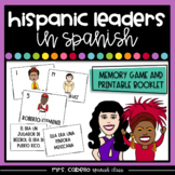 Hispanic Heritage Month in Spanish Memory Game - Herencia Hispana