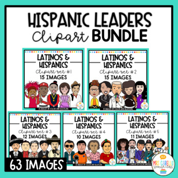 Hispanic Leaders , Personalities and Influencers Clipart