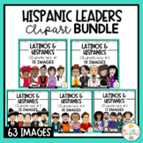 Hispanic Leaders , Personalities and Influencers Clipart Bundle