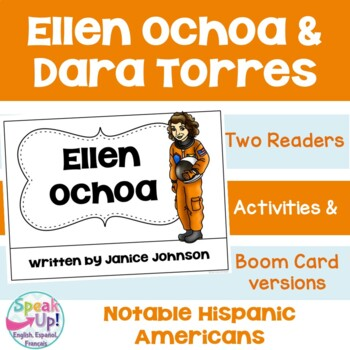 Dara Torres & Elena Ochoa Readers {Hispanic Heritage Month} in English