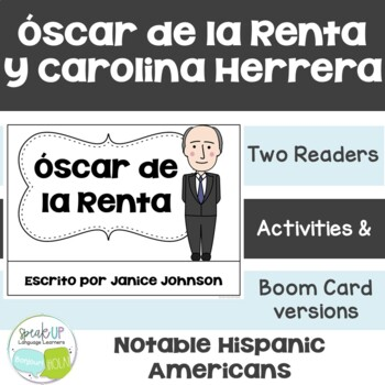 Hispanic Role Models {Hispanic Heritage Month} De la Renta & Herrera {Spanish}