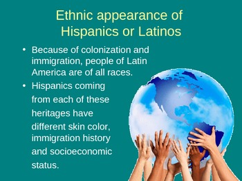 Hispanic Terminology