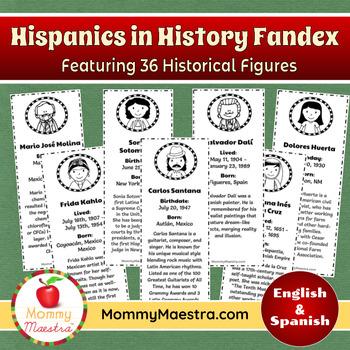 Hispanics in History Fandex COMBO PACK