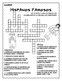 Hispanic Heritage Month Crossword Puzzle (in Spanish!)