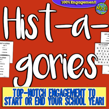 Hist-A-Gories: Back to School Game! Fun history game to st