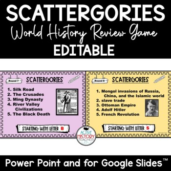 Histagories - WORLD History Review Game!