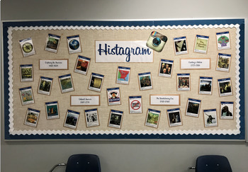 Histagram Bulletin Board Set (Instagram)