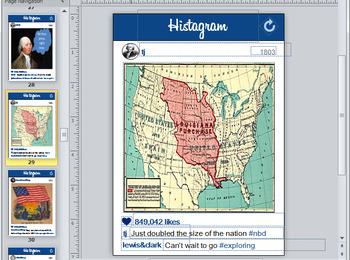 Histagram Bulletin Board Set (Instagram)