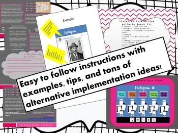 Not Instagram, but Histagram! Histagram Interactive Bulletin Board Kit