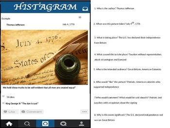 Instagram Histagram PowerPoint and Handout