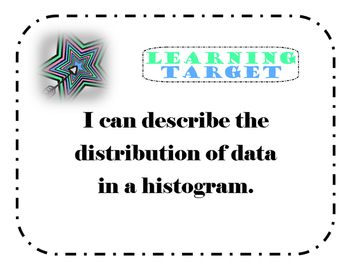 Histogram Distribution Foldable