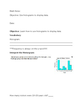 Histogram Guided Notes