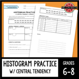 Histogram Practice with Central Tendency & Spread