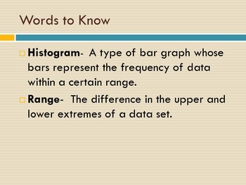 Histograms: A step by step presentation with Practice Problems