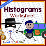 Histograms Interpreting and Creating Worksheet