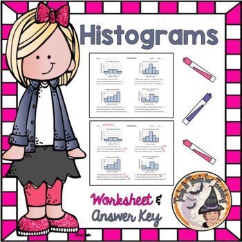 Histograms Practice Worksheet Analyze Summarize Data Analy