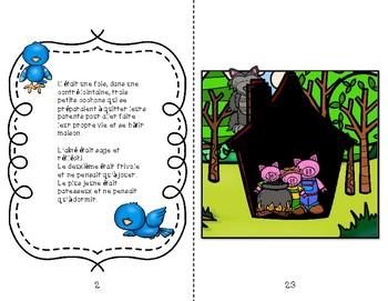 Histoire Les trois petits cochons