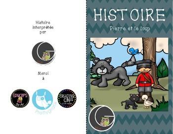 Histoire Pierre et le loup