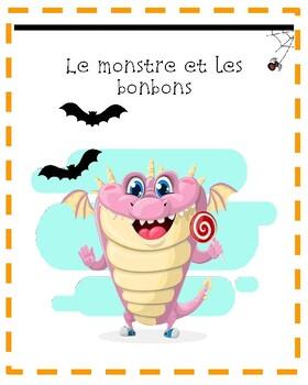 Histoire d'Halloween: Le monstre et les bonbons