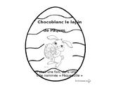 Histoire de Pâques, Chocoblanc le lapin de Pâques