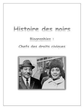 Histoire des noirs: biographies