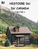 Histoire du Canada, volume 1, French immersion (#153)