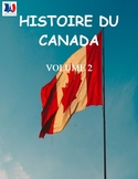 Histoire du Canada, volume 2, French Immersion