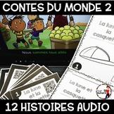 Histoires Audio avec Codes QR IPAD /Les contes du monde (Série 2)