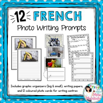 Histoires en images / French Photo Writing Prompts