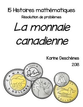 Histoires mathématiques-La monnaie canadienne