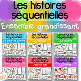 Histoires séquentielles -Ensemble grandissant -Sequencing Stories Growing Bundle