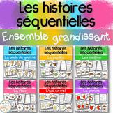 Histoires séquentielles -Ensemble grandissant -Sequencing Stories Growing Bundle