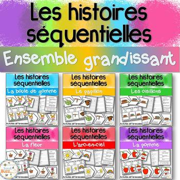 Histoires séquentielles -Ensemble grandissant -Sequencing