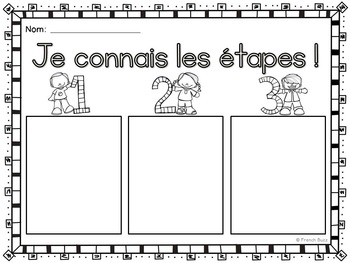 Histoires séquentielles - Les oisillons - French Sequencing Stories