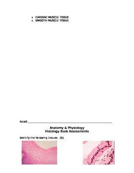 Histology Books Project