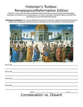Historian's Toolbox: Renaissance/Reformation Edition