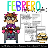 Historias de Comprension (Febrero) - February Comprehension Stories