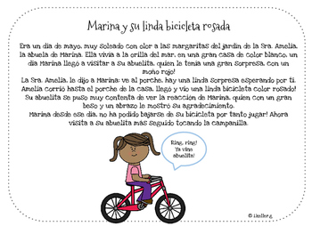 Historias de Primavera! Spring short stories! NO PREP!