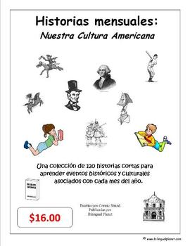 Historias mensuales Monthly Stories in Spanish