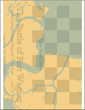 Historic Battlefields Chess and Checkers American Civil War Edition Game