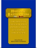 Historic Battlefields Chess and Checkers American Civil Wa