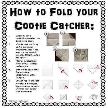 Historic Culture Groups of Louisiana  Cootie Catcher