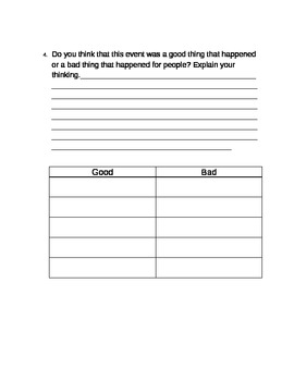 Historic Event research planner