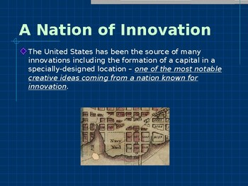 Historic Places & Events - The Founding of Washington D C