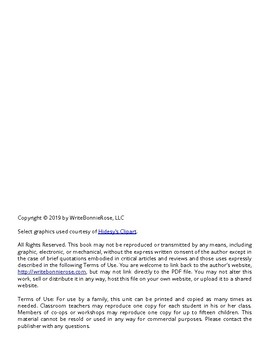 Historic Floods Notebooking Journal